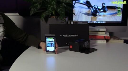 Blackberry P9982 im Test