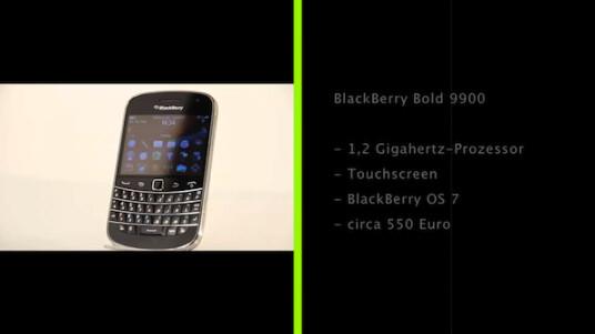 Mit dem Bold 9900 präsentiert Research in Motion den mit Abstand besten BlackBerry. Auch dank leistungsstarker Hardware weiß der Bold 9900 im Test zu überzeugen.