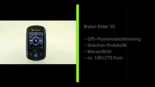 Wasserdichter GPS-Tacho: Der Bryton Rider 50 ermittelt über die Signale von Satelliten seinen Standort und protokolliert die Route des Fahrrads.