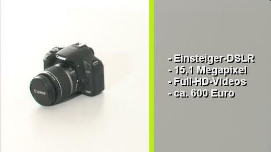 Die Canon EOS 500D ist eine Einsteiger-Spiegelreflexkamera die Videos in Full HD-auflösung aufnimmt. Für Einsteiger viel wichtiger ist, eine unkomplizierte Bedienung und die hohe Qualität ihrer Bilder.