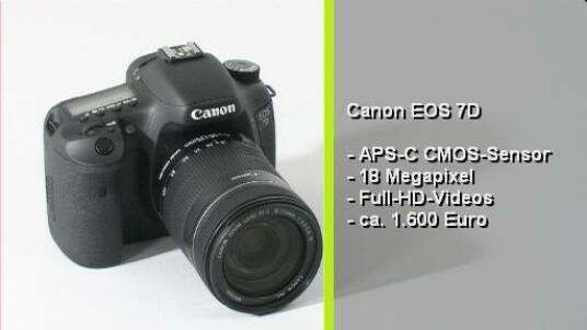Mit der Canon EOS 7D werden nicht nur Profis angesprochen. Auch Amateur-Fotografen werden bei einem Gehäusepreis von 1649 Euro schwach. Die Spiegelreflexkamera bietet eine herorragende Bidlqualität, umfangreich Ausstatung und eine angehme Bedienung.