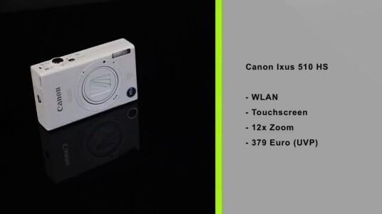 Die Canon Ixus 510 HS verschickt dank ihres WLAN-Moduls Bilder drahtlos an Computer oder zu Online-Diensten. Allerdings hätte die Bedienung nutzerfreundlicher gestaltet sein können.