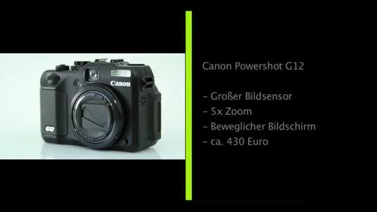 Canon hat sein Top-Modell unter den Kompaktkameras überarbeitet: Die neueste Version hört auf den Namen Powershot G12 und überzeugt im Test mit einer sehr guten Bildqualität, einer sinnvollen Ausstattung und einer nutzerfreundlichen Bedienung.