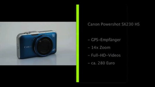 Geotagging leicht gemacht: Canon baut in seine Kompaktkamera Powershot SX230 HS nicht nur ein Objektiv mit 14-fachem Zoom, sondern auch ein GPS-Modul ein. Dieses versieht die Fotos mit den Koordinaten ihres Aufnahmeortes.