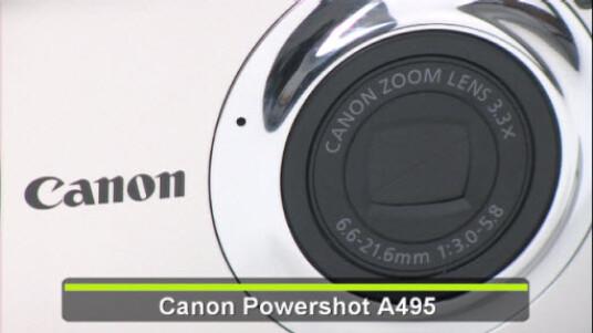 Canons Einsteiger-Kompaktmodell Powershot A495 bietet für rund 130 Euro eine sehr gute Bildqualität.