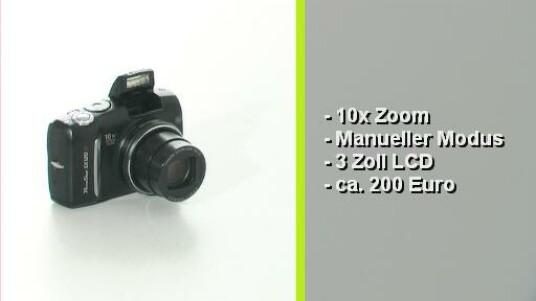 Die Canon Powershot SX120IS ist eine kompakte Digitalkamera, die ein sehr gutes Preisleistungsverhältnis bietet. Mit zehnfachem optischen Zoom und einem leistungsfähigen, optischen Bildstabilisator sowie vielen manuellen Einstellungen überzeugt sie durchaus. Die Bildqualität entspricht dem Durchschnitt.