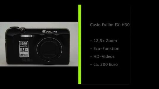 Casio Exilim EX-H30