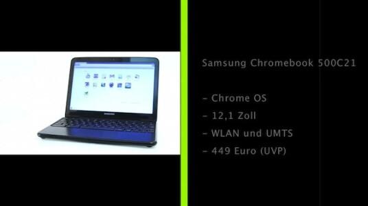 Samsung hat als erster Computerhersteller ein Chromebook mit Googles neuem Chrome OS fertig gestellt. Sowohl das Notebook als auch das Betriebssystem sind konsequent an das Internet angebunden.