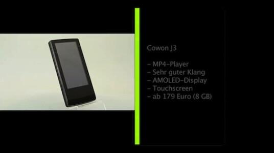Wozu noch einen MP3-Player kaufen, wenn doch jedes Handy mittlerweile Musik abspielen kann? Wegen des außergewöhnlich guten Klangs. Was der Cowon J3 noch zu bieten hat erfahren sie im Video.