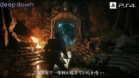 Das Action-Rollenspiel Deep Down spielt im futuristischen New York  des Jahres 2094, nutzt aber ein mittelalterliches Fantasy-Setting. Das Spiel basiert auf der Panta-Rhei-Engine die offensichtlich hervorragende Ergebnisse erzielen kann. Zufällig generierte Gegner und Waffen sollen die Spannung steigern. Im Online-Modus könnt ihr mit bis zu vier Spielern in die Dungeons vordringen. Weitere Story-Details sind bisher nicht bekannt. Der PS4-Exklusivtitel soll noch 2014 veröffentlicht werden.