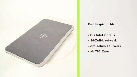 Dell Inspiron 14z Ultrabook im Test