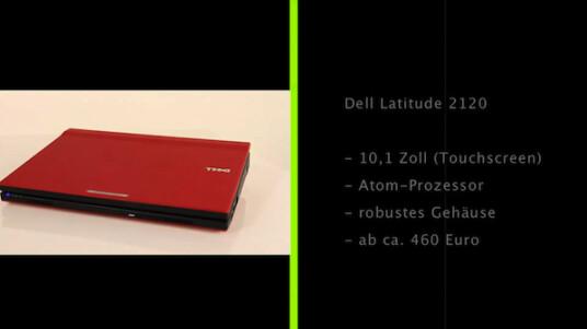 Dell bietet mit dem Latitude 2120 ein robustes Netbook für Firmen und Schulen an, dass aber im Test nicht wirklich überzeugen kann und vergleichsweise teuer ist.