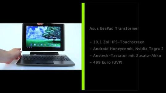 Asus EeePad-Transformer