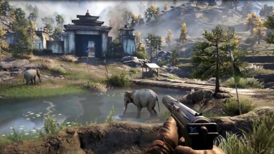 Ubisoft nutzt das Medium E3 als Werbefläche und veröffentlicht ein Gameplay-Video zu Far Cry 4. Der neuste Teil der Ego-Shooter-Serie spielt in der fiktiven Bergregion Kyrat. Ihr schlüpft in die Rolle von Ajay Ghale, der seinen Geburtsort besucht und dabei auf die Machenschaften von Pagan Min, dem Despoten, stößt. Als Einheimischer müsst ihr Pagan Min natürlich das Handwerk legen. Im Trailer können wir neue Features wie den Enterhaken oder Elefanten, welche ihr als Waffe benutzen könnt begutachten. Die Bio-Ballerei startet weltweit am 18. November 2014 für PS3, PS4, Xbox 360, Xbox One und PC .