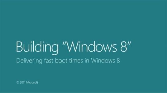 Microsoft demonstriert die neue Fast-Boot-Technik von Windows 8.