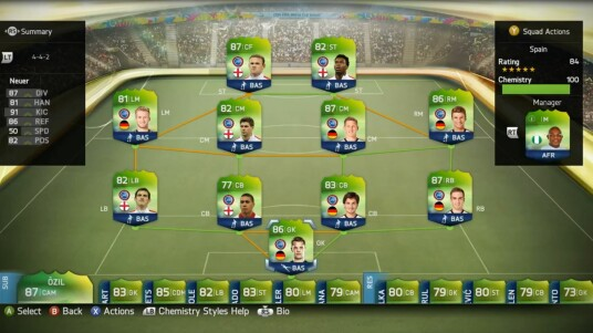 FIFA 14: Ultimate Team - WM-Modus