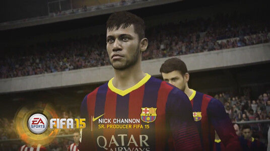 FIFA 15 Gameplay Features - realistische Grafik