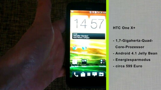 Mit dem One X+ präsentiert HTC eine Neuauflage seines Highend-Android-Handys.