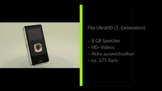 Flip UltraHD (3. Generation)