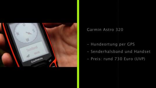 Das professionelle Hundeortungssystem Astro 320 von Garmin wendet sich an spezialisierte Anwender - an Rettungshundeführer und Jäger. Netzwelt hat sich das System, bestehend aus einem Senderhalsband und einem GPS-Handset, näher angeschaut.