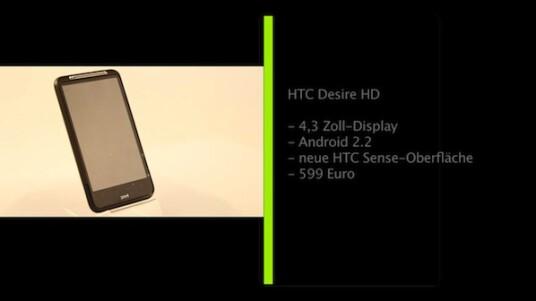 Der erste Eindruck der netzwelt-Redaktion von HTCs neuem Android-Flaggschiff Desire HD ist äußerst positiv.