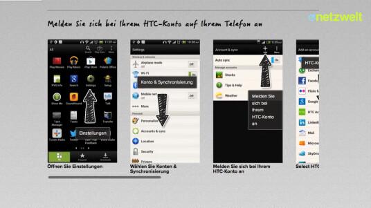 HTC Get Started ist ein Service des taiwanischen Herstellers, mit dem Käufer eines HTC-Smartphones ihr Gerät bereits vor dem Erhalt einrichten können. Das Video zeigt, wie dies gelingt.