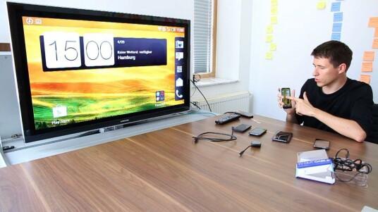 HTC präsentiert mit dem Media Link eine Alternative zu Apple TV.