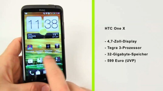 Das HTC One X ist das Flaggschiffmodell der neuen One-Serie von HTC. Vor allem für Gamer ist das Quad-Core-Smartphone interessant.