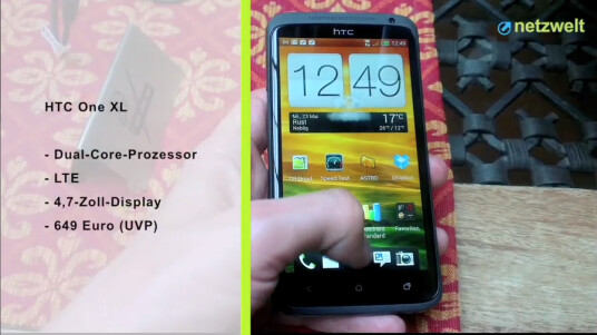 HTC One XL: First Look