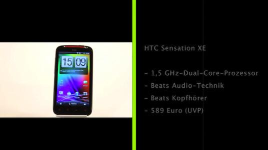Das HTC Sensation XE ist das erste Smartphone, das von der Kooperation mit Beats Audio kooperiert.