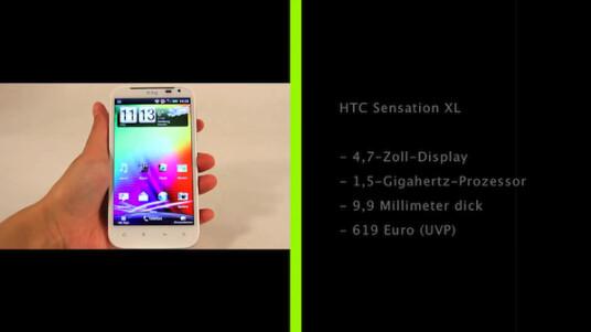 Das HTC Sensation XL ähnelt mehr dem Windows Phone HTC Titan als seinen Namensvetern HTC Sensation und HTC Sensation XE. Dank Beats-Audiotechnik sorgt es für ein mobiles Kinoerlebnis.
