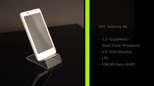 HTC betätigt sich erneut als Trendsetter. Mit dem Velocity 4G stellt der Hersteller eines der ersten verfügbaren LTE-Smartphones vor. Doch auch abseits des ultraschnellen Mobilfunks hinterlässt das Velocity Eindruck.