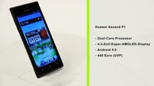 Mit dem Huawei Ascend P1 versucht der chinesische Handy-Hersteller auch im Hochpreis-Segment Fuß zu fassen. Er setzt dazu auf bewährte Hardware und Android 4.0.