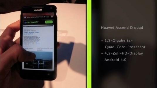 Huawei präsentiert auf dem Mobile World Congress in Barcelona das