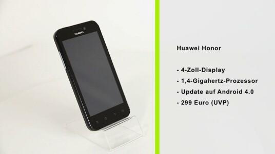 Das Huawei Honour will sich durch eine extra lange Akkulaufzeit von der Smartphone-Konkurrenz abheben.
