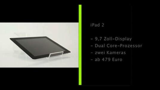 Das iPad 2 tritt in die Fußstapfen seines überaus erfolgreichen Vorgängers. Die zwei Kameras und das neue schlankere Gehäusedesign sind die auffälligsten Änderungen. Sein volles Potential dürfte der Flachcomputer aber wohl erst mit zukünftigen Apps entfalten.