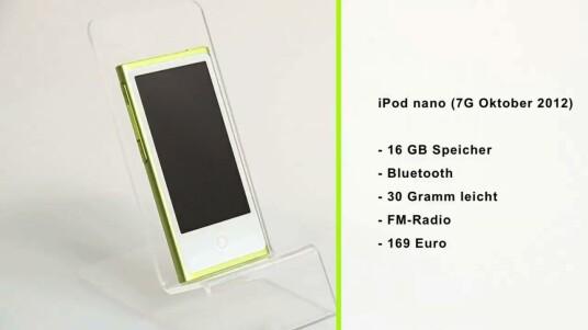 iPod nano (7G Oktober 2012)