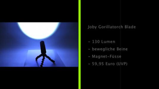 Joby Gorillatorch Blade