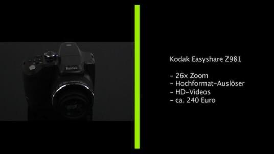 Kodaks Bridgekamera Easyshare Z981 überzeugt vor dem Test mit einer umfangreichen Ausstattung. Doch bei der Nutzung der Kamera fallen nicht nur kleine Mängel bei der Bedienung, sondern auch ein großer Nachholbedarf bei der Bildqualität auf.