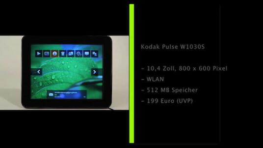 Kodak Pulse W1030S