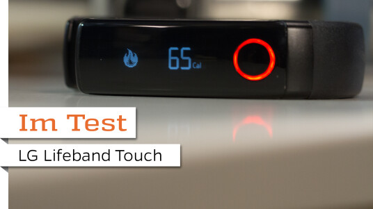 LG Lifeband Touch im Test