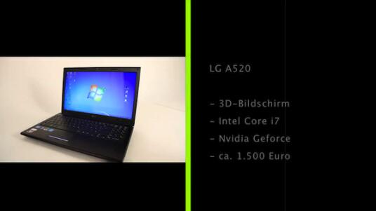 Günstige und leichte Polirisationsbrillen statt schwerer und teurer Shutterbrillen - LG hat sich bei seinem ersten 3D-Notebook für die nutzerfreundlichere 3D-Technik entschieden.