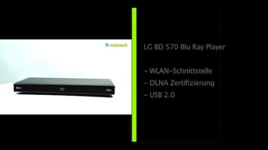 LG BD 570 Blu Ray Player