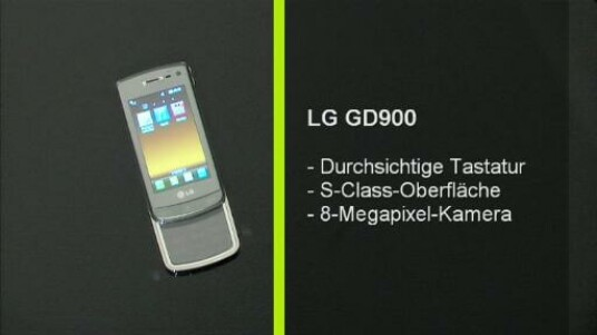 Das erste Mobiltelefon mit durchsichtiger Tastatur ist ein Blickfang. Aber auch ansonsten kann sich das LG GD 900 sehen lassen. Die Bedienung und Verarbeitung ist vorbildhaft.