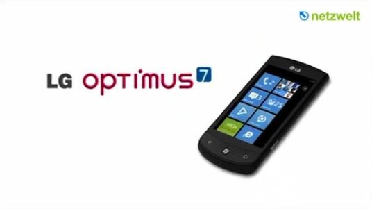 LG präsentiert sein neues Smartphone Optimus 7 in diesem Imagefilm. Es ist eines der ersten WP7-Phones. Form und Funktionen sollen Nutzer ansprechen, die viel Wert auf die Multimedia-Eigenschaften legen.