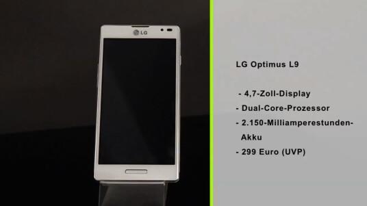 Das LG Optimus L9 bietet für einen geringen Preis ein großes Display, das sich sonst nur in Highend-Modellen findet.