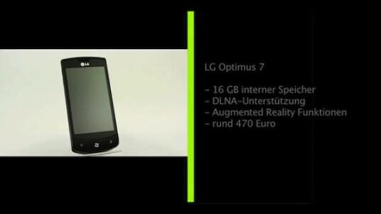 Mit dem LG Optimus 7 stellt sich eines der ersten WP7 Smartphones dem netzwelt-Test. Das Smartphone richtet sich dabei an Multimedia-Anwender und bringt unter anderem DLNA-Unterstützung mit.