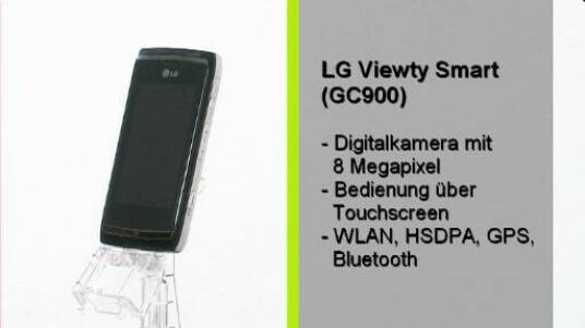 Die Ausstattungsliste des LG GC900 Viewty Smart liest sich wie die einer Digitalkamera: Acht Megapixel, LED Blitz, Autofokus, Bildstabilisator und Geotagging. Den Vergleich zu einer vergleichbaren Kamera verliert das Mobiltelefon aufgrund der schlechten Bildqualität jedoch gnadenlos.