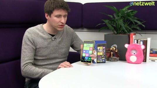 Nokia präsentiert mit dem Lumia 1520 das erste Phablet mit Microsofts Handy-OS Windows Phone 8. Wie sich das sechs Zoll große Smartphone im netzwelt-Test schlägt, verrät das ausführliche Video-Review.