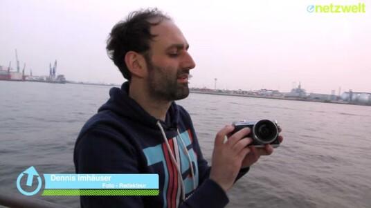 Im Video zeigen wir Ihnen das Kameragehäuse sowie die wichtigsten Einstellräder und Tasten der GX7 im Detail.